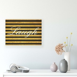 Typographic Canvas Photo Print