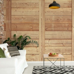 Wood Plank Texture Photo Wallpaper Wall Mural