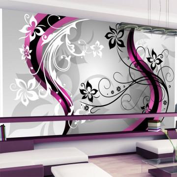 Fototapet XXL - Art-flowers (pink)