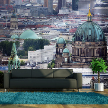 Fototapet - Berlin - bird's eye view