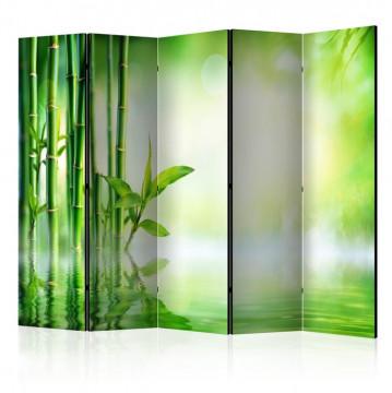 Paravan - Green Bamboo II [Room Dividers]