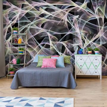 Abstract Design Lights Photo Wallpaper Wall Mural