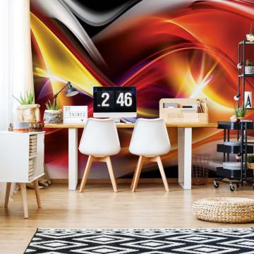 Abstract Light Art Photo Wallpaper Wall Mural