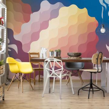 Abstract Modern Pattern Photo Wallpaper Wall Mural