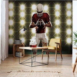American Football Player Photo Wallpaper Wall Mural