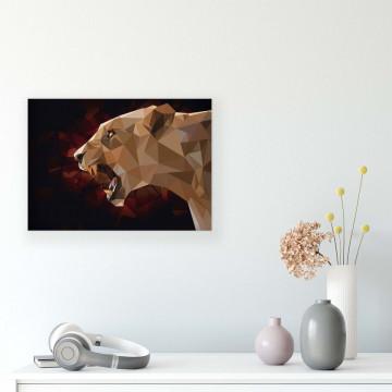 Animals & Living Canvas Photo Print