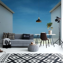 Arriving At The Beach Photo Wallpaper Mural