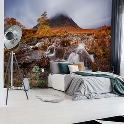 Autumn In The Glencoe Photo Wallpaper Mural