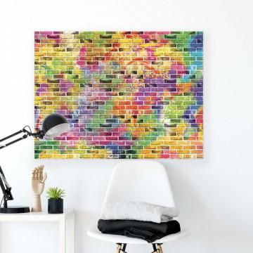 Brick Walls Canvas Photo Print