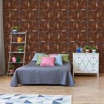 Brown Wood Texture Photo Wallpaper Wall Mural