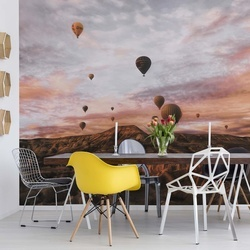 Cappodocia Hot Air Balloon Photo Wallpaper Mural