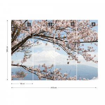 Cherry Blossom Tree Photo Wallpaper Wall Mural