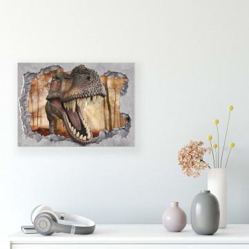 Dinosaurs Canvas Photo Print