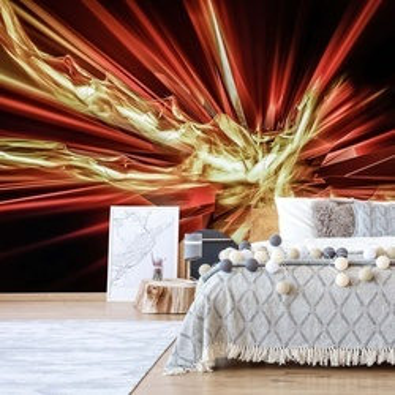 Energy Blast 3D Photo Wallpaper Wall Mural