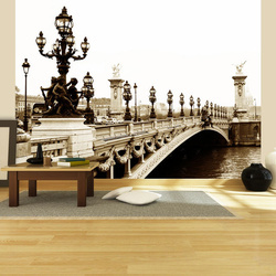 Fototapet - Alexander III Bridge, Paris