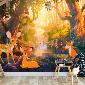 Fototapet autoadeziv - Animals in the Forest