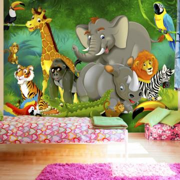 Fototapet autoadeziv - Colourful Safari