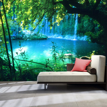 Fototapet autoadeziv - Kursunlu Waterfalls (Antalya, Turkey)