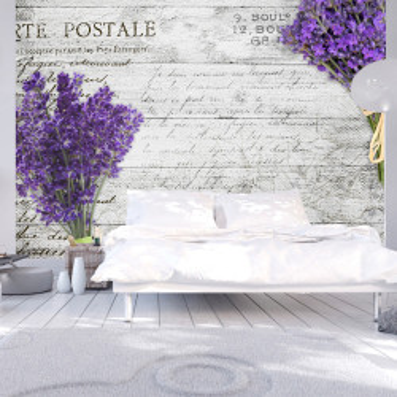 Fototapet autoadeziv - Lavender postcard