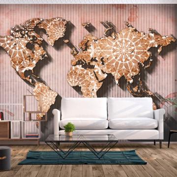 Fototapet autoadeziv - Oriental Map