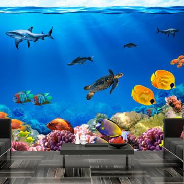 Fototapet autoadeziv - Underwater kingdom
