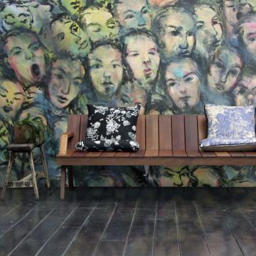 Fototapet - Berlin wall art