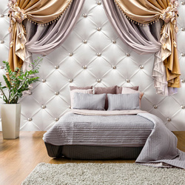 Fototapet - Curtain of Luxury