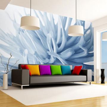 Fototapet - Flower - blue dahlia