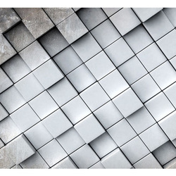 Fototapet - Gray background 3D