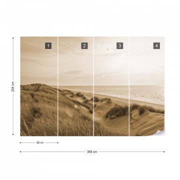 Fototapet - Oază în Deșert – Sepia