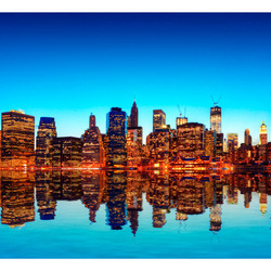 Fototapet - Skyline of New York from the water