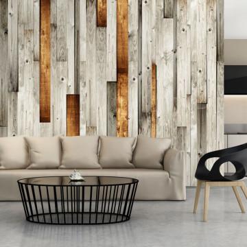 Fototapet - Wooden theme