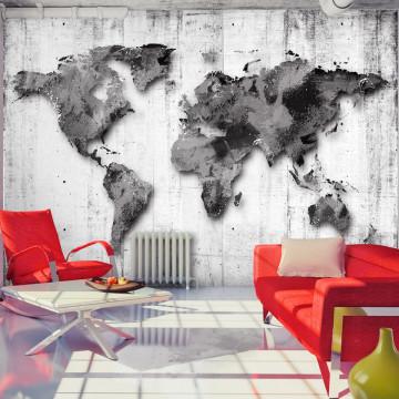 Fototapet - World in Shades of Gray