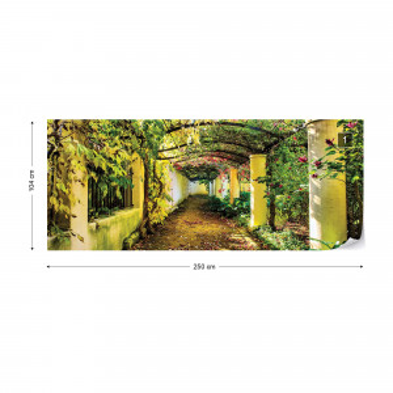 Garden Flowers Photo Wallpaper Wall Mural
