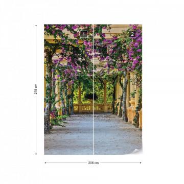 Garden View Photo Wallpaper Wall Mural