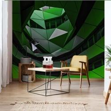 Green Offices Photo Wallpaper Mural