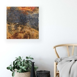 Grunge Walls Canvas Photo Print