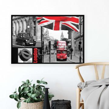 London Canvas Photo Print