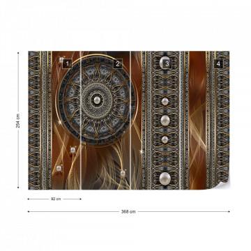 Luxury Celtic Pattern Photo Wallpaper Wall Mural