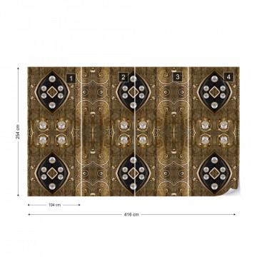 Luxury Pattern Photo Wallpaper Wall Mural