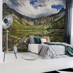 Mountain Paradise Photo Wallpaper Mural