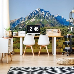Mountains Photo Wallpaper Wall Mural
