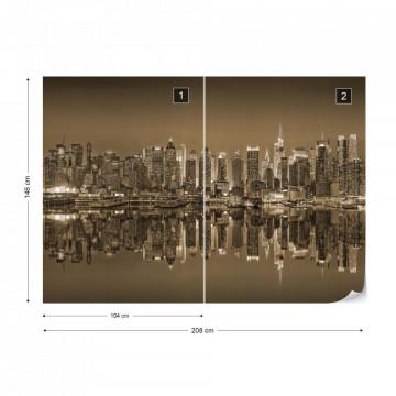 New York – Reflexie în Apă, Sepia