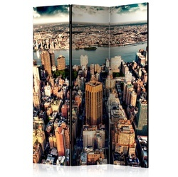 Paravan - Bird's Eye View of New York [Room Dividers]