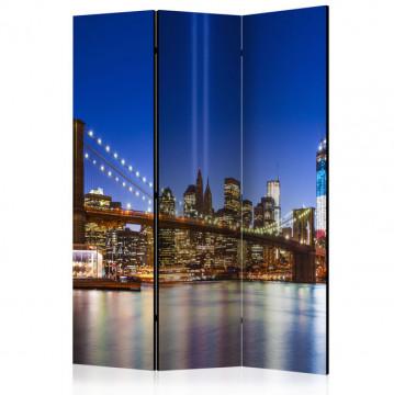 Paravan - Blue New York [Room Dividers]
