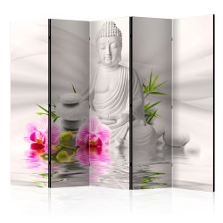 Paravan - Buddha and Orchids II [Room Dividers]