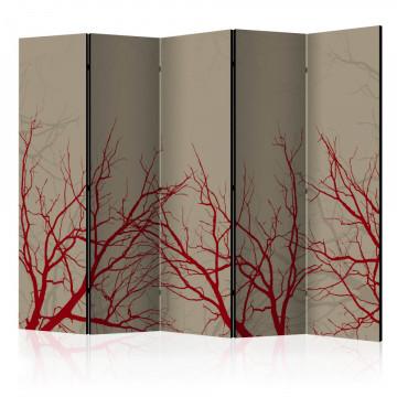 Paravan - Red-hot branches II [Room Dividers]