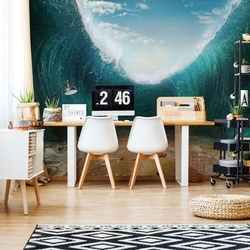 Parting Waves Ocean Photo Wallpaper Wall Mural