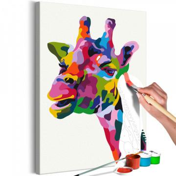 Pictatul pentru recreere - Colourful Giraffe