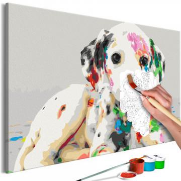 Pictatul pentru recreere - Colourful Puppy